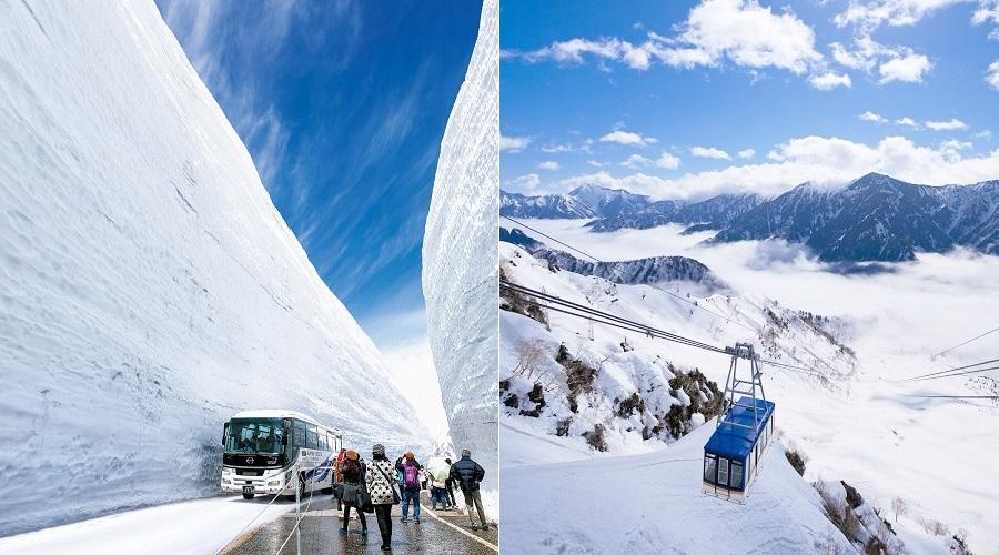 Kết quả hình ảnh cho tateyama kurobe alpine route